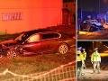 Prvé FOTO z miesta nehody Borisa Kollára: Desivý pohľad na zdemolovanú limuzínu