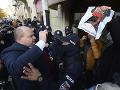 Nahá aktivistka protestovala v Kyjeve proti poľskému zákonu o interrupciách
