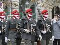 Ceremónia vo Viedni počas
