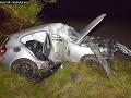 Košičan (†26) nezvládol šoférovanie a vpálil do stromu: FOTO Neprežil prevoz do nemocnice