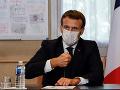 KORONAVÍRUS Francúzsky prezident Macron oznámil nový lockdown v krajine