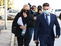 Obvinená sudkyňa zutekala z nitrianskej NAKA: VIDEO Že sa nehanbíte, odkazovala novinárom