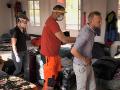 Pri odchode mu museli pomáhať záchranári