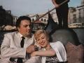 Federico Fellini a Giulietta Masina