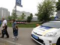 Na kyjevskom Majdane vrazilo do ľudí SUV: Z miesta hlásia niekoľko obetí