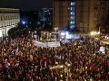 FOTO Protesty v Jeruzaleme: Tisíce ľudí žiadali odchod premiéra Netanjahua