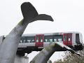 Rušňovodič mal obrovské šťastie: Vykoľajený vozeň metra zachránila pred pádom do vody socha