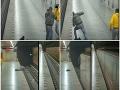 Mrazivé VIDEO z Prahy! Drsná bitka v metre, záver ako z akčného filmu: Muž spadol do koľajiska