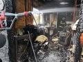 PRÁVE TERAZ Pri Komárne vybuchol stánok: Hasiči hlásia zranených