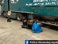 Polícia zaistila piatich migrantov: Na Slovensko pricestovali pod návesmi kamiónov
