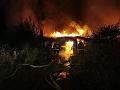 FOTO Polícia vyšetruje požiar unimobuniek v Dúbravke: O život prišli traja ľudia