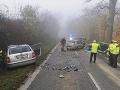 Hromadná nehoda pri Bratislave: FOTO Vodič predbiehal v hmle, manéver neprežil! Veľké varovanie polície