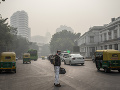 India hlási závažné znečistenie ovzdušia: Lekári varujú pacientov s COVID-19
