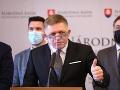 Predseda strany Smer-SD Robert Fico