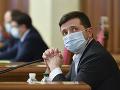 KORONAVÍRUS Zelenskyj je v nemocnici: Cez víkend zavedú celoplošnú karanténu