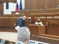 Hádka v parlamente! VIDEO Mazurek sa pustil do poslanca zo SaS: Padali vyhrážky aj strkanice