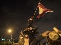 Ľudia v Peru demonštrujú proti nariadeniu Kongresu: FOTO Silnejúce protesty naberajú na obrátkach