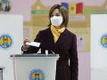Moldavsko si volilo novú hlavu štátu: V prezidentských voľbách zvíťazila proeurópska kandidátka