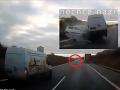 VIDEO Kamera zachytila desivú čelnú zrážku na českej diaľnici! Žena v protismere zomrela