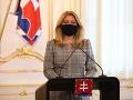 Prezidentka odovzdala poverovacie listiny piatim novým veľvyslancom Slovenskej republiky