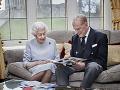 Kráľovná Alžbeta II. a princ Philip oslavujú 73. výročie svadby