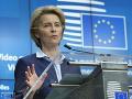 V rokovaniach medzi Londýnom a Bruselom nastal istý pokrok, hovorí von der Leyenová