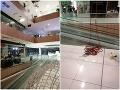 Dráma v nitrianskom nákupnom centre pri inštalácii vianočnej výzdoby: Mladý muž spadol z 20 metrov!