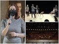 Prvé predstavenie v SND po korona-ZÁKAZE: Poloprázdne hľadisko a... Vystúpila ministerka kultúry!