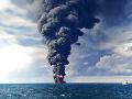 Výbuch míny v Červenom mori pri pobreží Jemenu poškodil ropný tanker