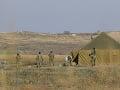 Azerbajdžanskí vojaci na území