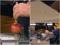 TRAPAS v živom vysielaní Telerána: Markizák robil pokus a… Ups, rozbil úplne nový dizajnový stôl!