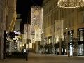 Prázdne ulice rakúskej Viedne