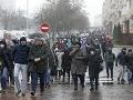 Protest v Bielorusku
