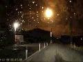 VIDEO Na oblohe zaznamenali nevídaný svetelný úkaz: Obyvatelia neverili vlastným očiam