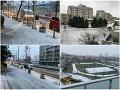 Prvý sneh v Bratislave! FOTO Situáciu v okrese komplikuje aj mrznúci dážď: Vodiči, pozor na poľadovicu