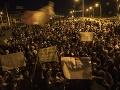 Protest v Peru