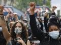 Demonštranti pochodovali Parížom: Protestovali proti spornému bezpečnostnému zákonu