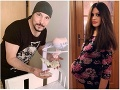 Bohuš Matuš (46) otcom: Dieťa mu porodila 17-ročná Lucinka... Takéto dostala dcérka meno!