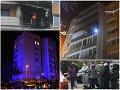 FOTO Hrozivý požiar v Košiciach: Šťastie v nešťastí, obyvatelia sa vracajú do bytov