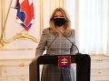 Prezidentka vystúpi s videopríhovorom v rámci Climate Ambition Summit