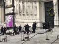 Horor po predvianočnom koncerte: FOTO Streľba pred kostolom! Polícia nemala inú možnosť