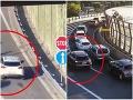 Bratislavskí policajti ukázali VIDEO, ako vodiči zle používajú diaľničný zjazd a výjazd: Hrozia im pokuty