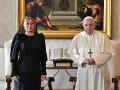 Pápež František má v úmysle pricestovať na Slovensko, prijal pozvanie prezidentky