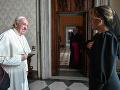 Čaputová u pápeža: FOTO Prezidentka ohúrila outfitom! Svätý otec posiela odkaz Slovákom