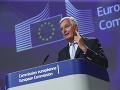 Hlavný vyjednávač Európskej únie pre brexit naznačil istý pokrok v rokovaniach