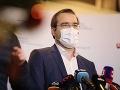 Krajčí navrhne sprísnenie opatrení proti koronavírusu: Situácia je podľa neho kritická