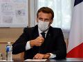 KORONAVÍRUS Macronovi chorému na COVID-19 sa už darí lepšie, informoval prezidentský úrad