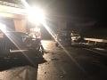 Haváriu piatich áut pri Budimíre so smrteľnou obeťou vyšetruje polícia