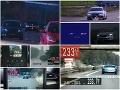 Najhorší cestní piráti za rok 2020: Rekordéri mali na tachometroch vyše 240-tku!