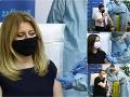 Krčméry, prezidentka aj zdravotníci: FOTO Zaočkovať sa dali priamo pred kamerami! Odkaz všetkým ľuďom